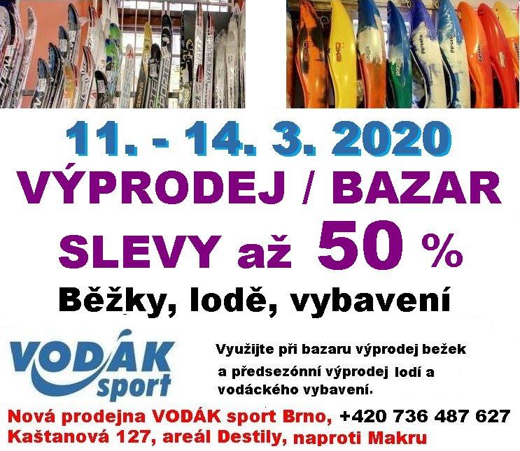 Výprodej - SLEVY až 50 %
